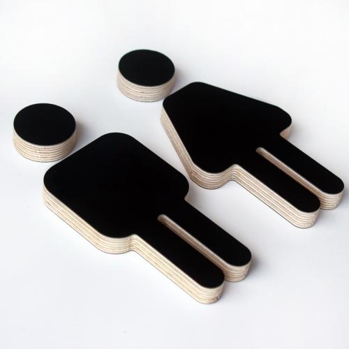 Plywood - Black/White/Sage green